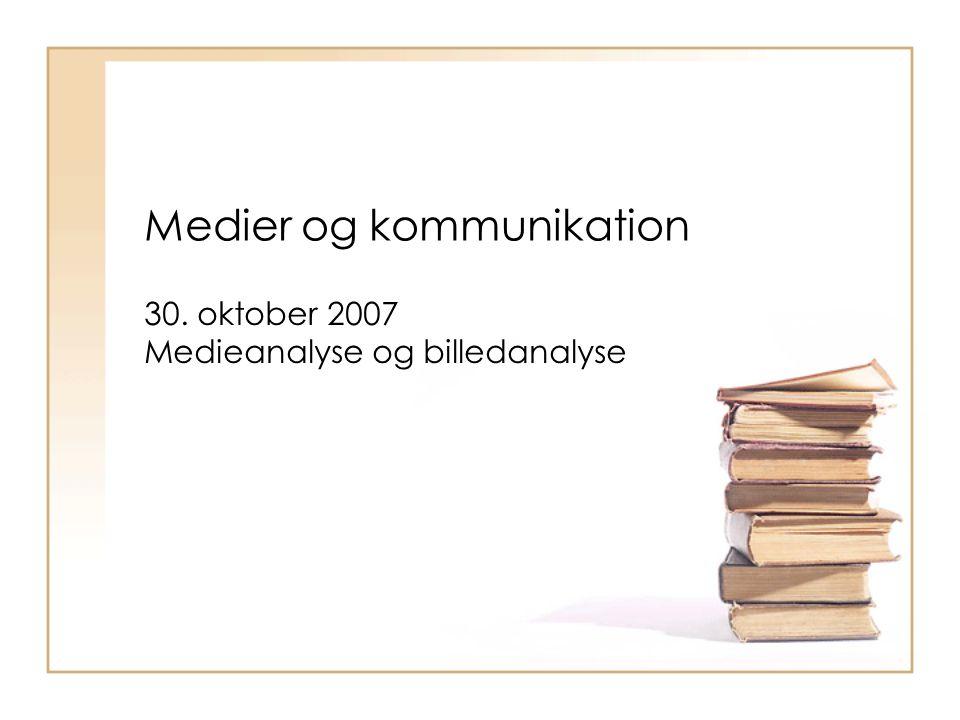 Medier og kommunikation