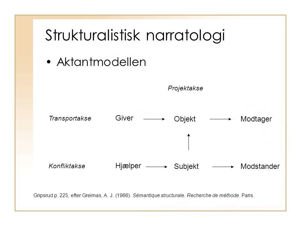Strukturalistisk narratologi