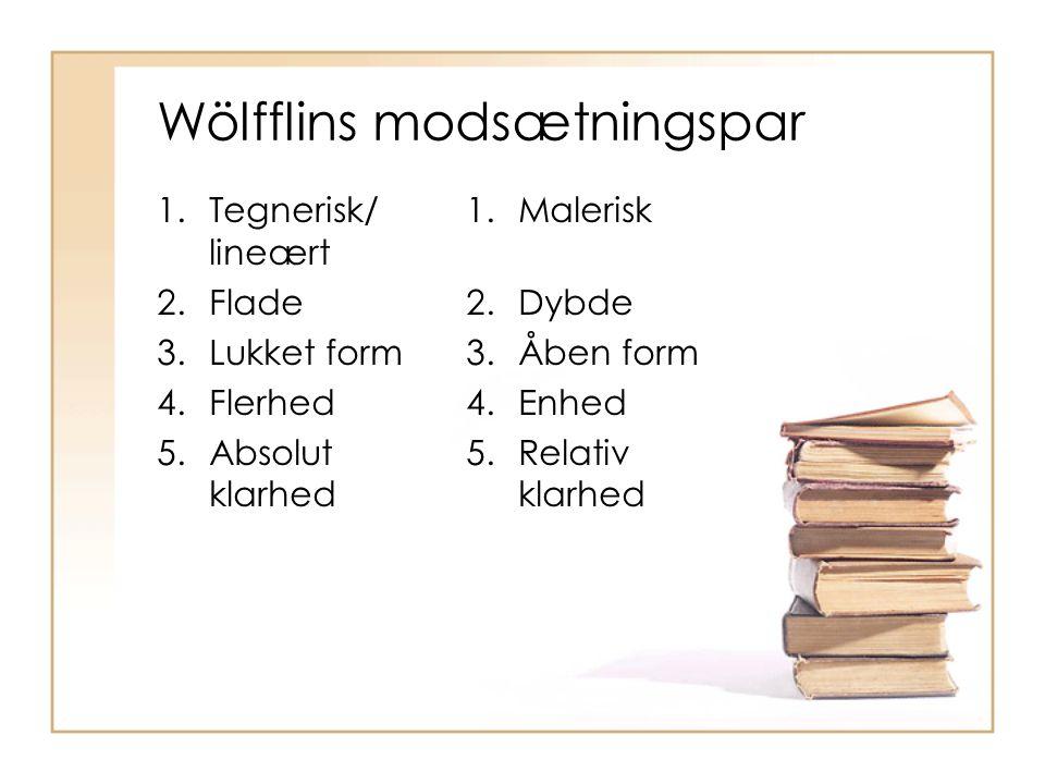 Wölfflins modsætningspar