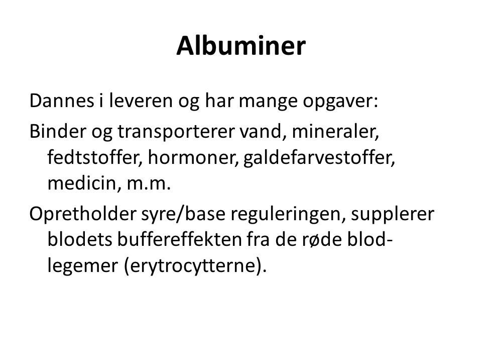 Albuminer