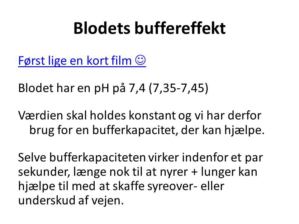 Blodets buffereffekt