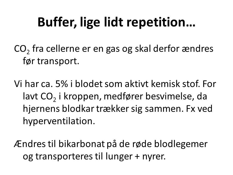 Buffer, lige lidt repetition…