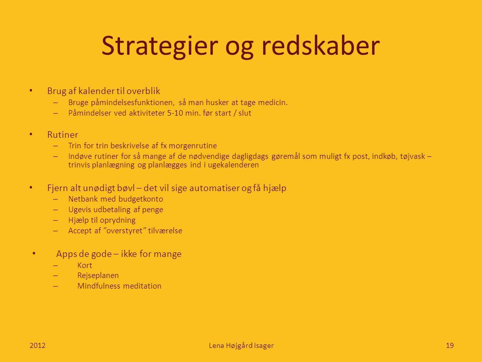Strategier og redskaber