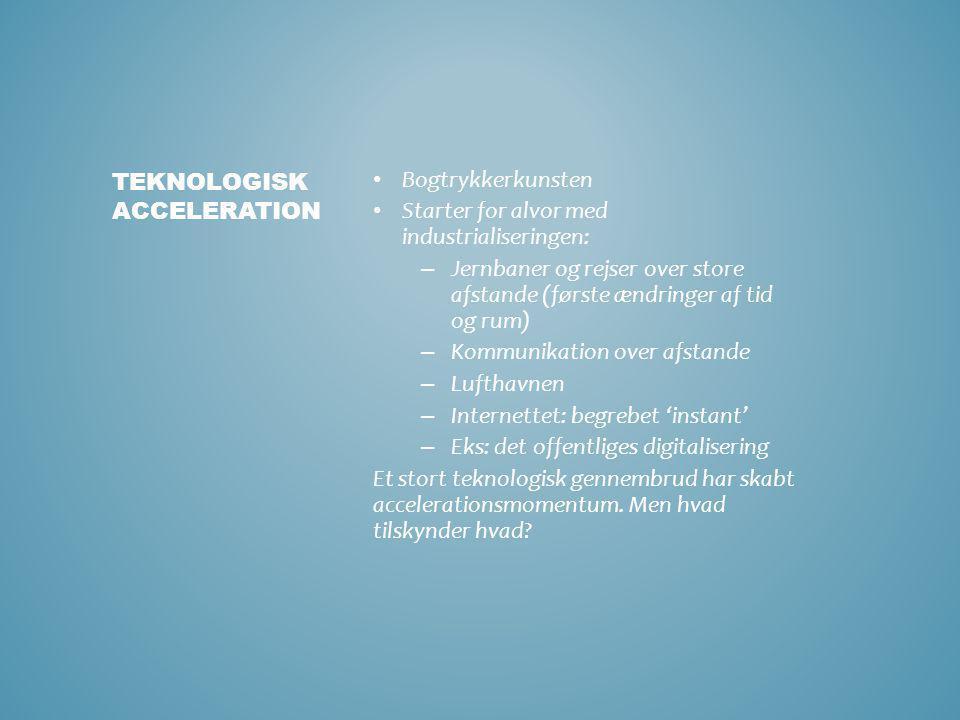 Teknologisk acceleration