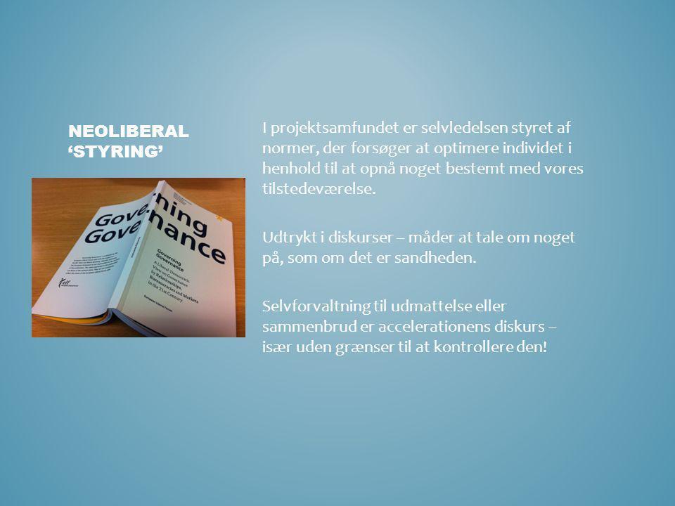 Neoliberal 'styring'