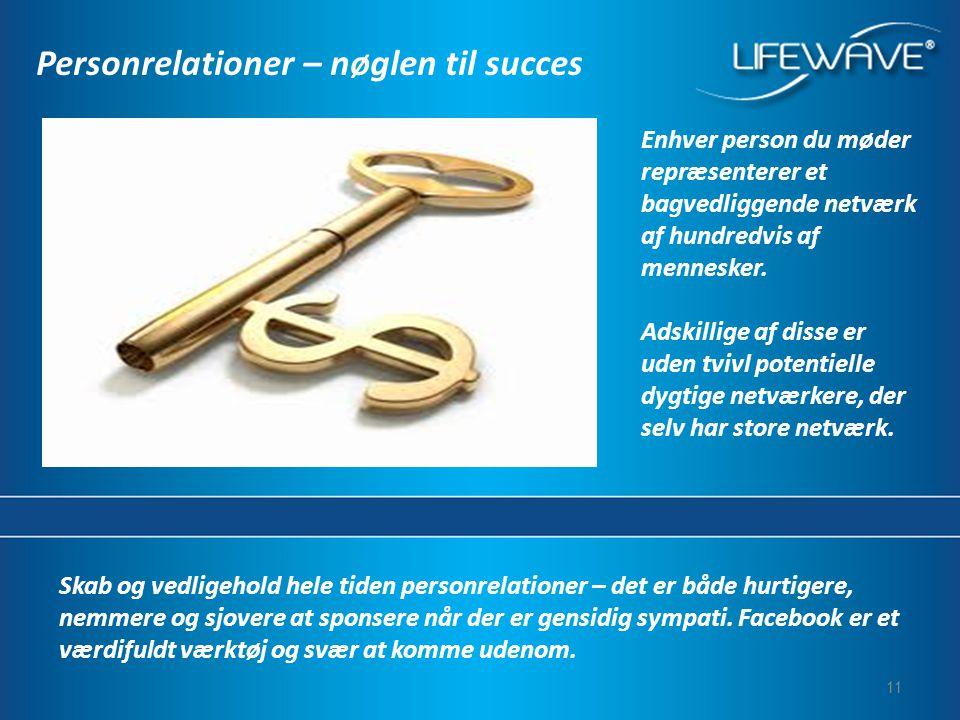 Personrelationer – nøglen til succes