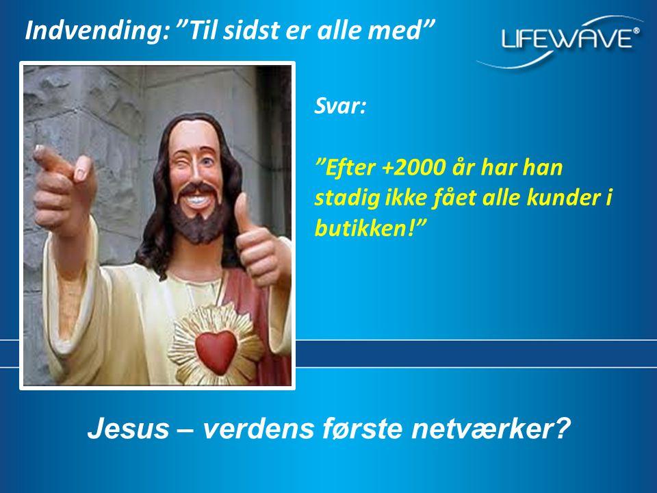Jesus – verdens første netværker