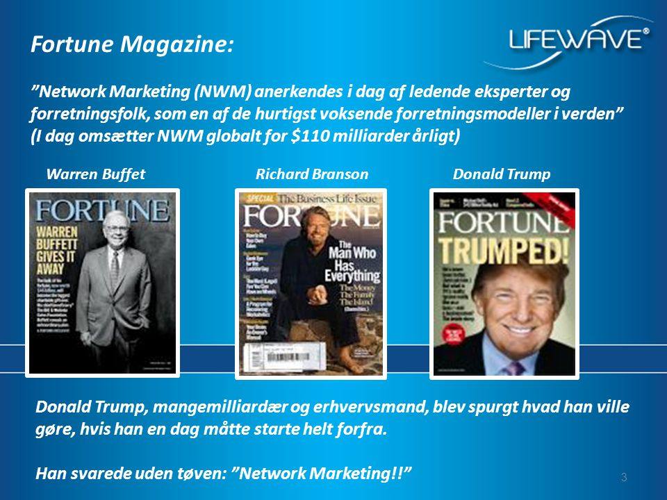 Fortune Magazine:
