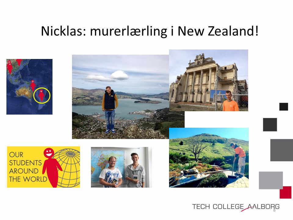 Nicklas: murerlærling i New Zealand!