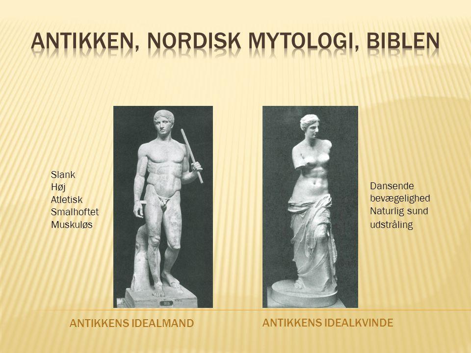 Antikken, nordisk mytologi, biblen