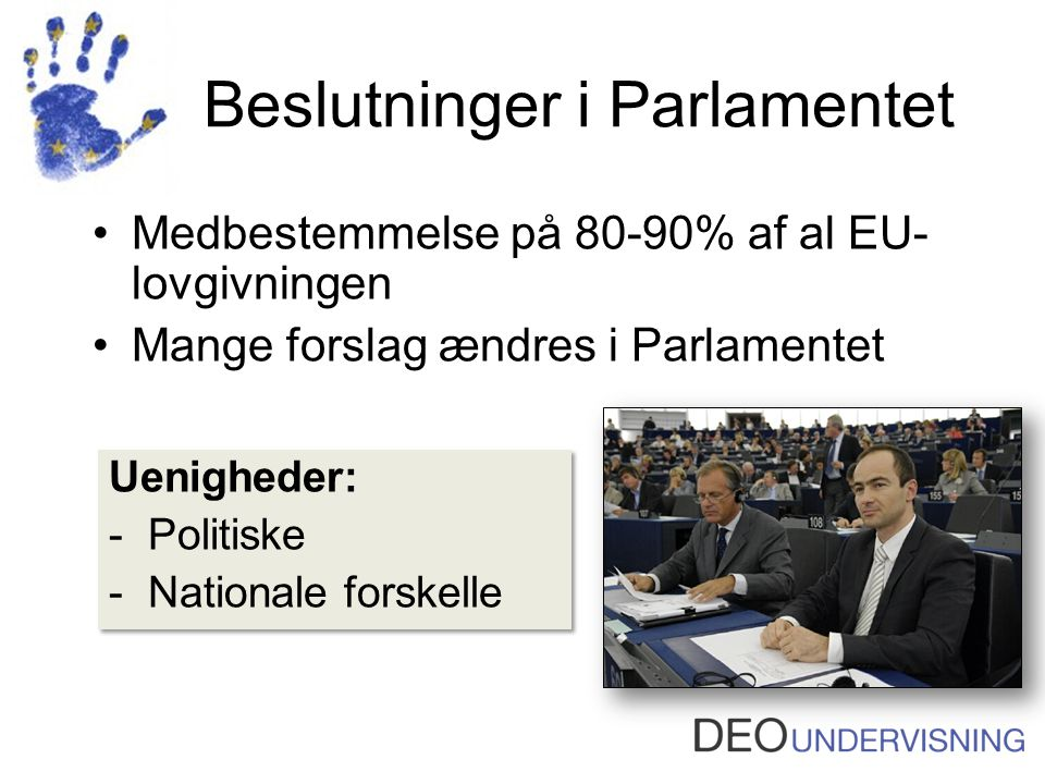 Beslutninger i Parlamentet