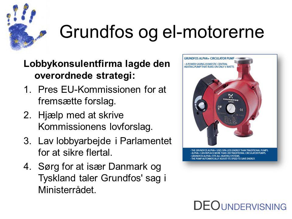Grundfos og el-motorerne