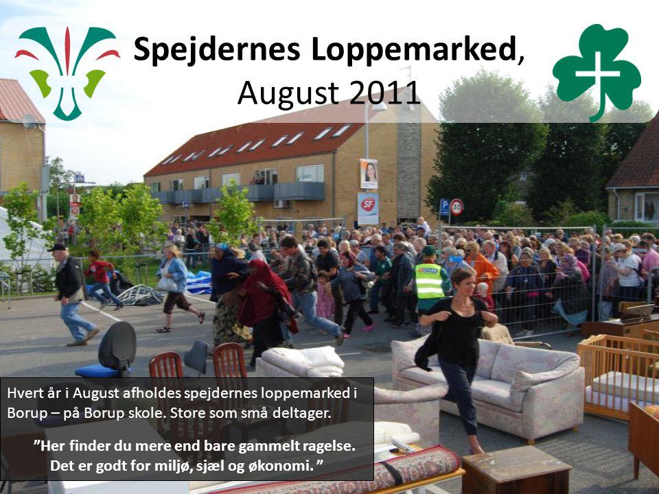 Spejdernes Loppemarked, August 2011