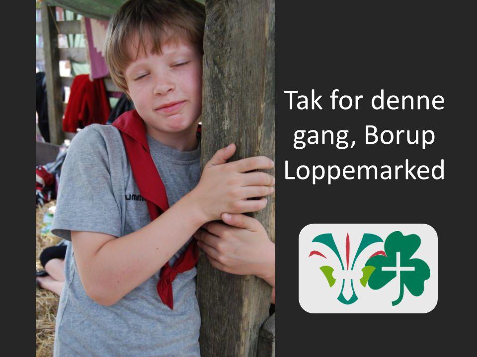 Tak for denne gang, Borup Loppemarked