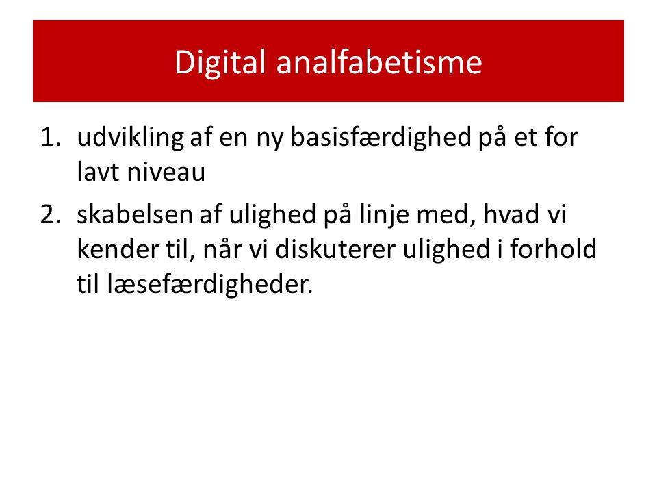 Digital analfabetisme