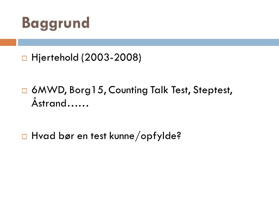 Baggrund Hjertehold (2003-2008)