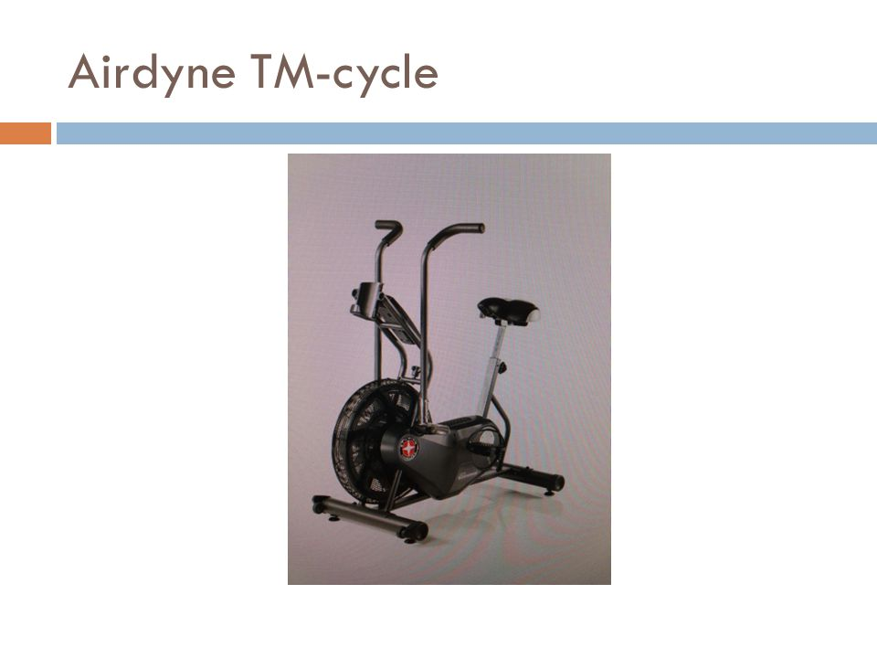 Airdyne TM-cycle