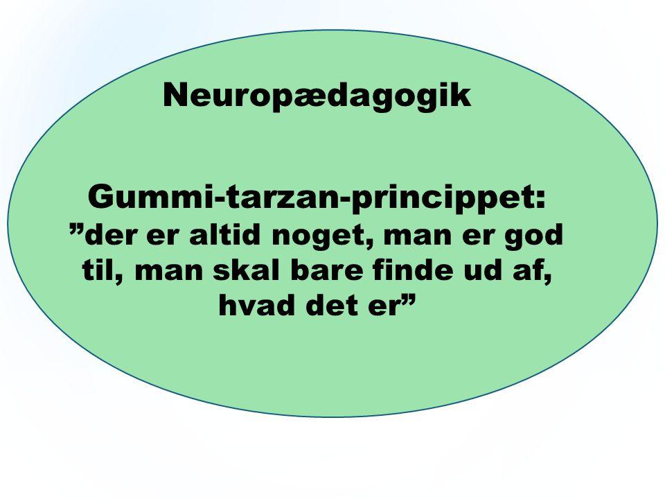 Gummi-tarzan-princippet: