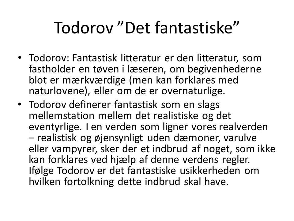 Todorov Det fantastiske