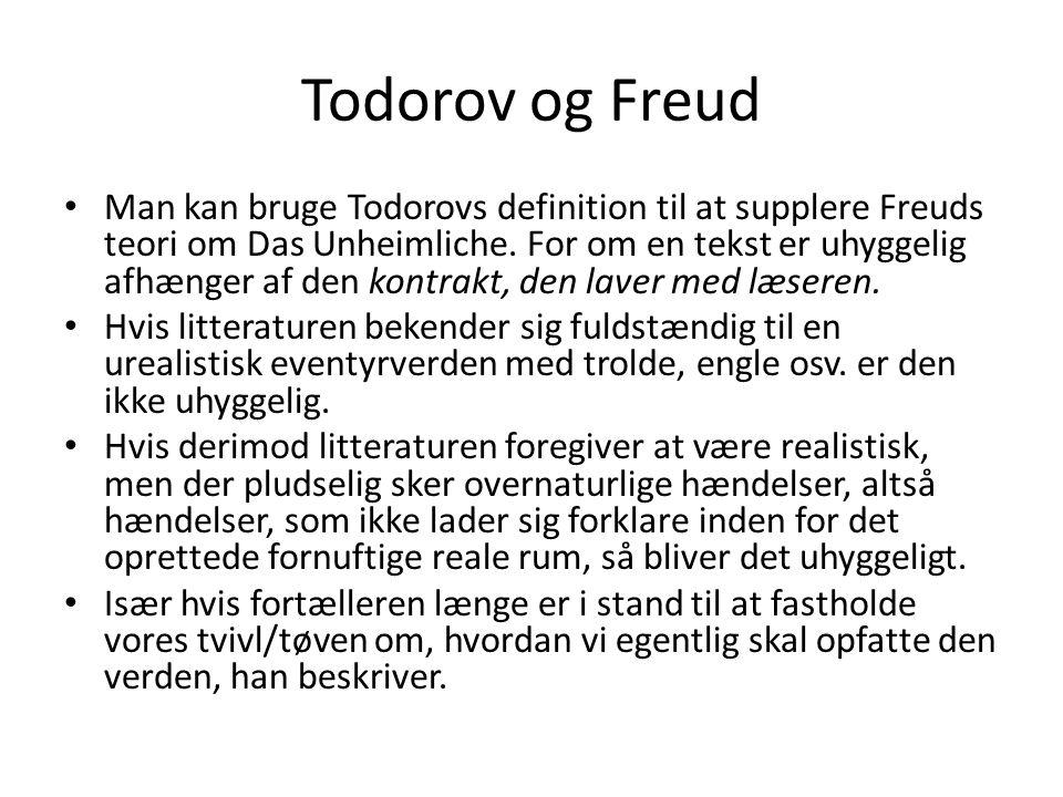 Todorov og Freud