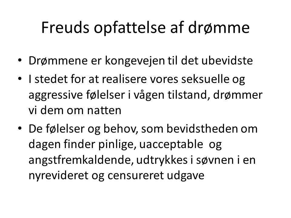 Freuds opfattelse af drømme