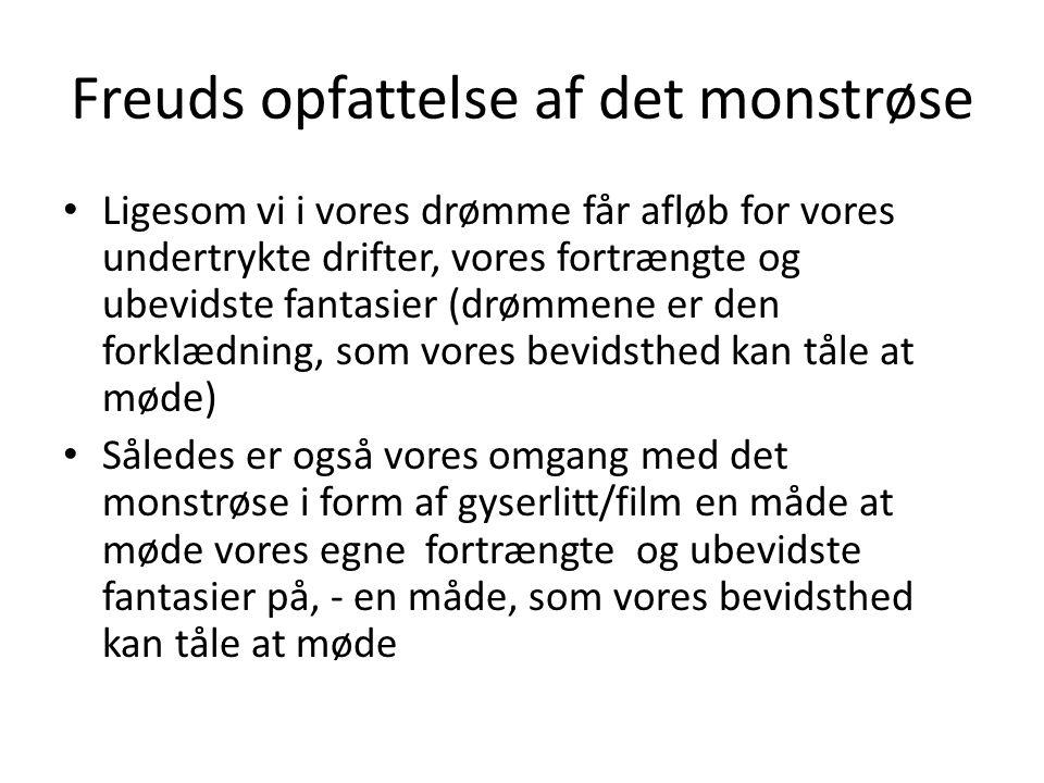 Freuds opfattelse af det monstrøse