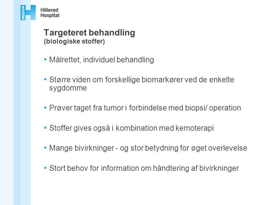 Targeteret behandling (biologiske stoffer)