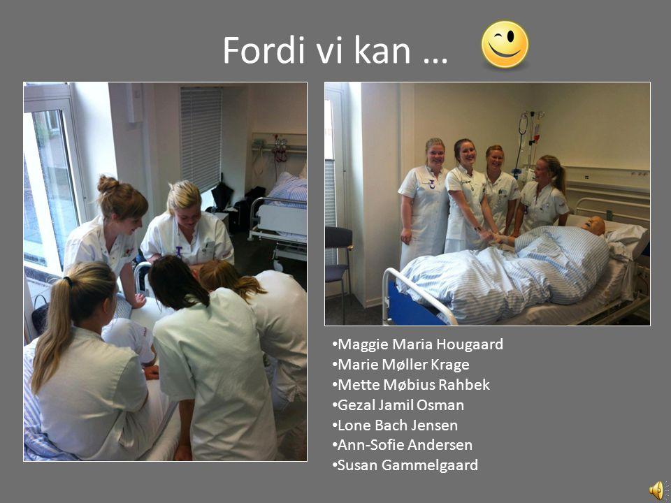 Fordi vi kan … Maggie Maria Hougaard Marie Møller Krage