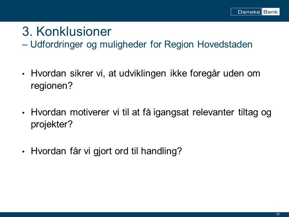 3. Konklusioner – Udfordringer og muligheder for Region Hovedstaden