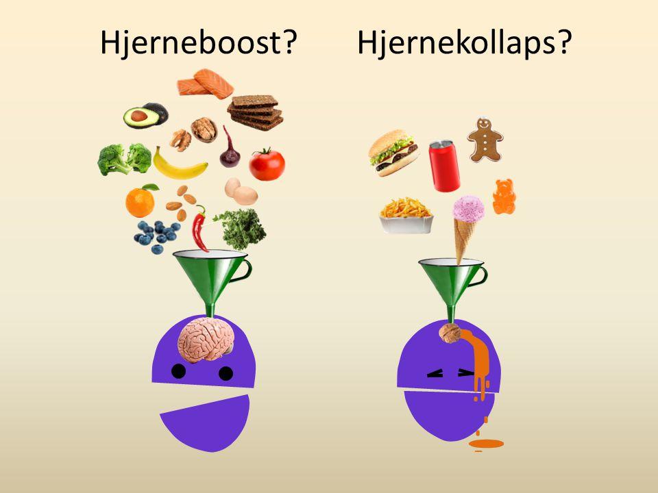 Hjerneboost Hjernekollaps Hvad skal jeg spise for at booste hjernen
