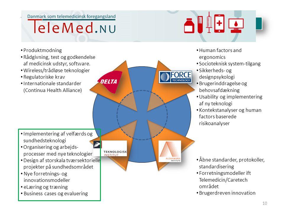 Tværgående indsats for Telemedicin