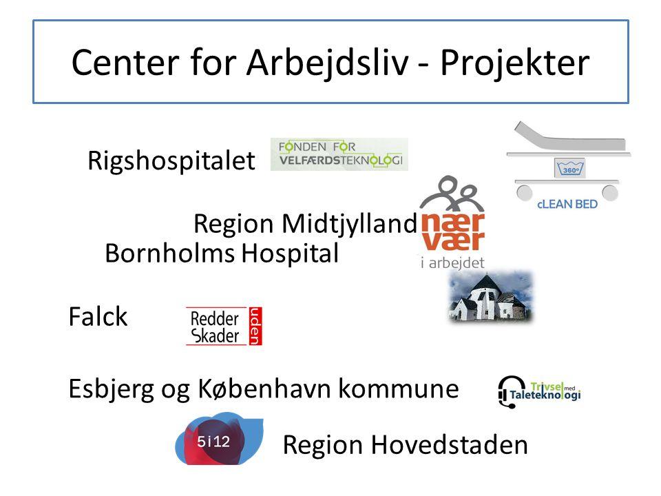Center for Arbejdsliv - Projekter