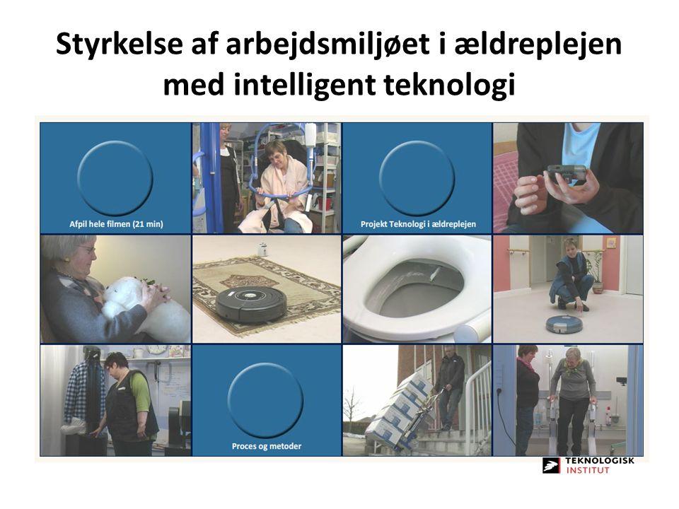 Styrkelse af arbejdsmiljøet i ældreplejen med intelligent teknologi