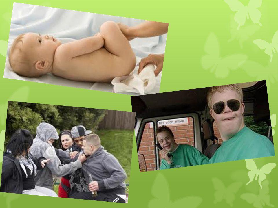 Vi arbejder med børn/ung- Mennesker med nedsat funktionsevne