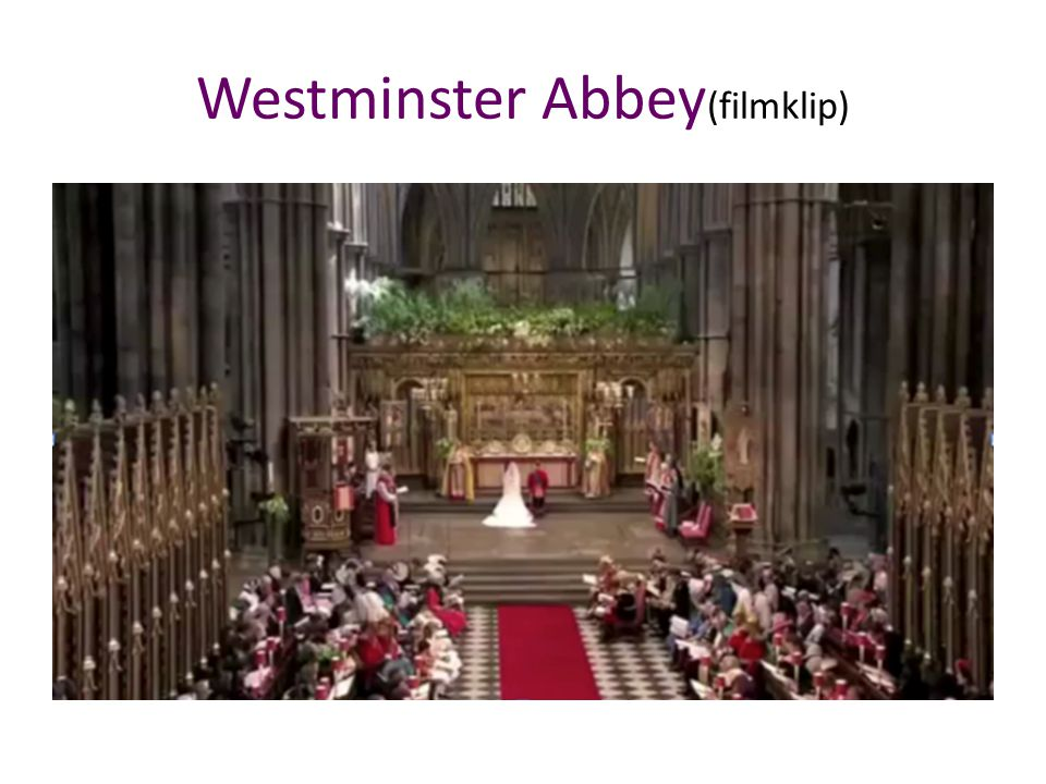 Westminster Abbey(filmklip)