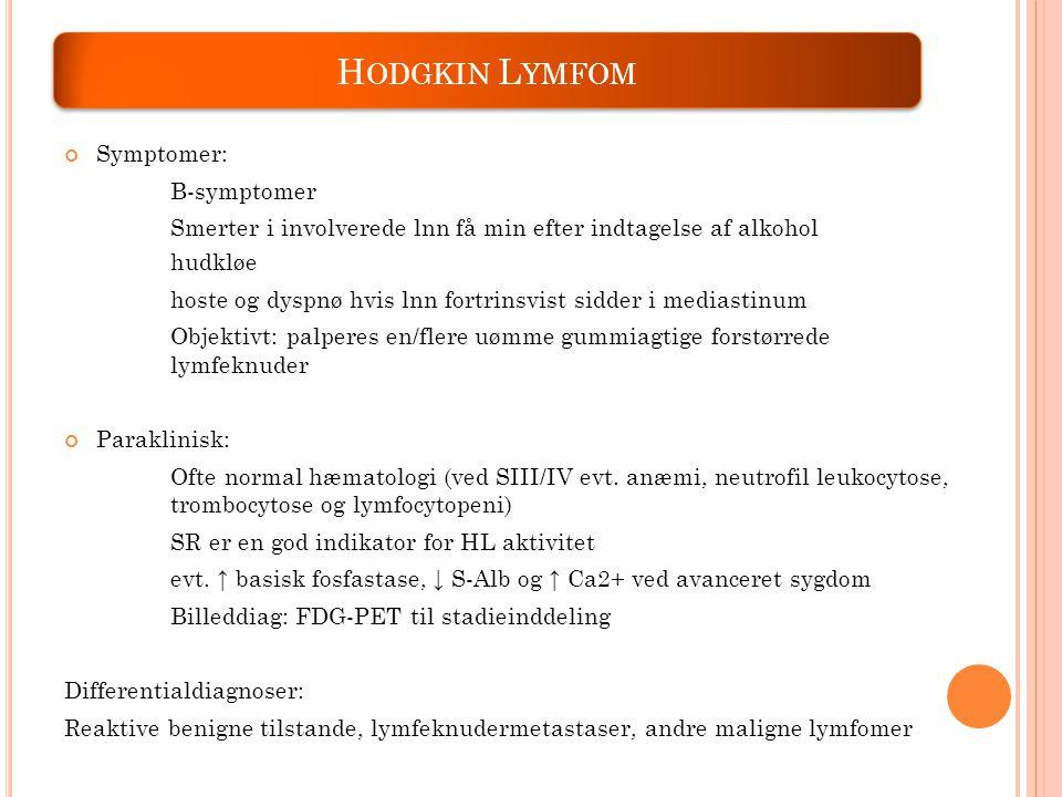 follikulaert lymfom symptomer