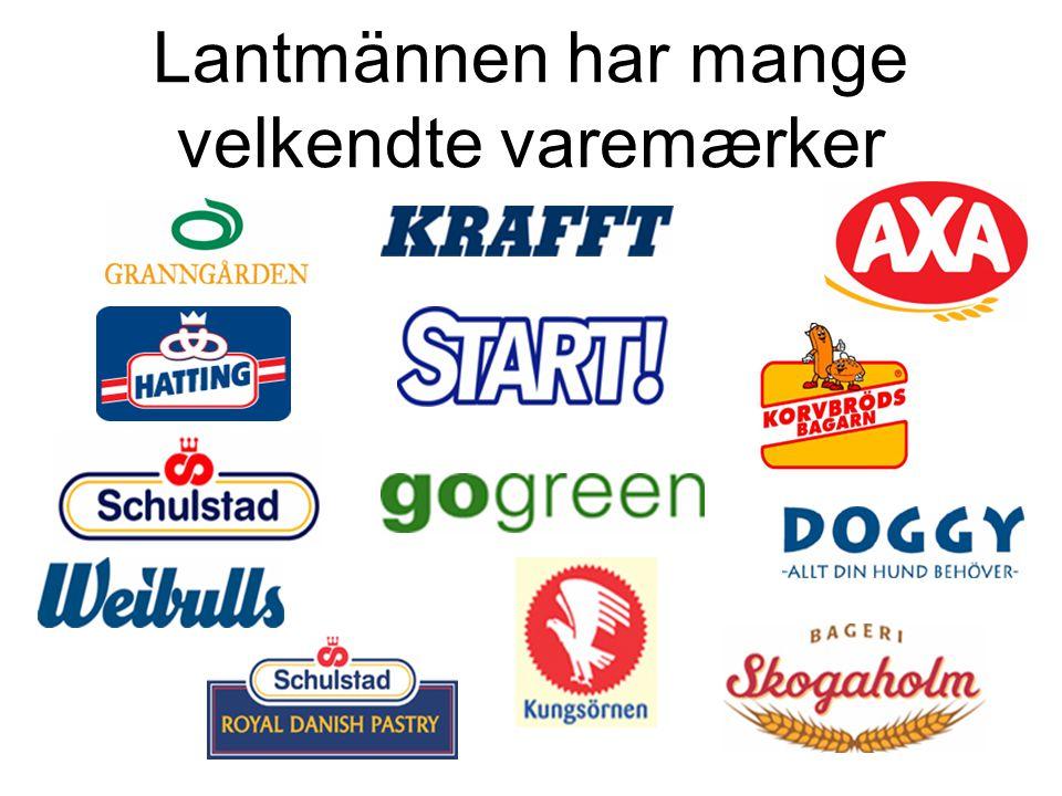 Lantmännen har mange velkendte varemærker
