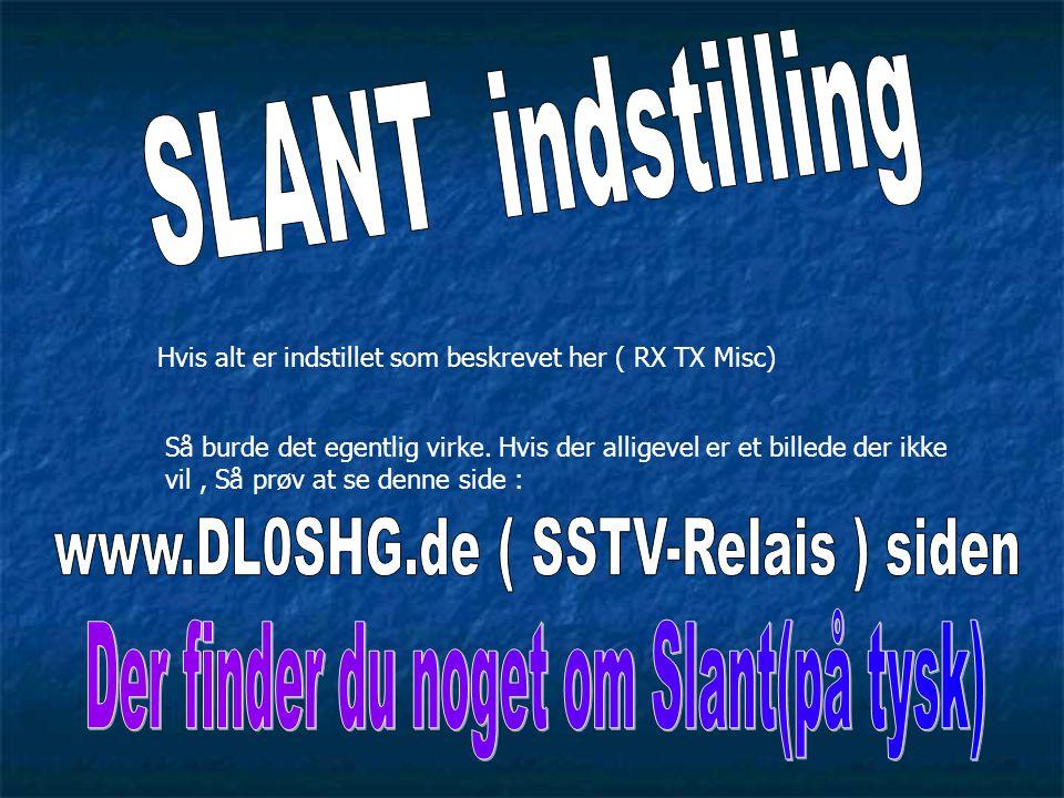 www.DL0SHG.de ( SSTV-Relais ) siden