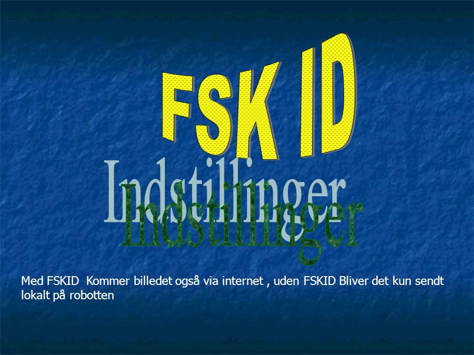 FSK ID Indstillinger.