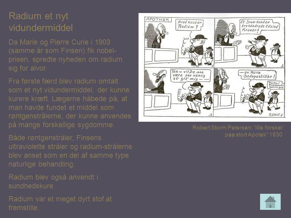 Radium et nyt vidundermiddel