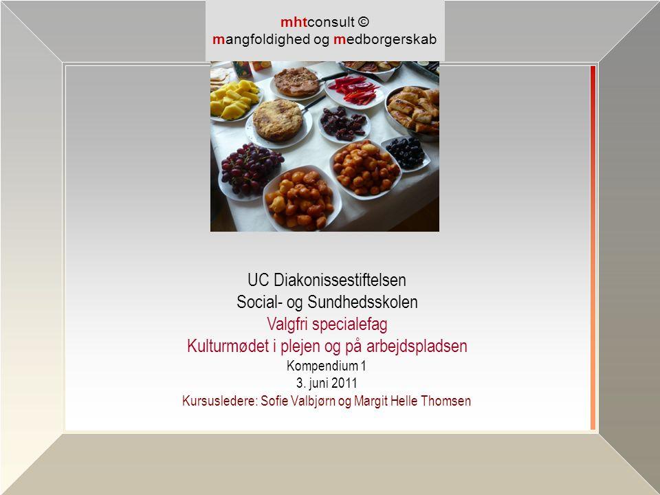 UC Diakonissestiftelsen Social- og Sundhedsskolen Valgfri specialefag