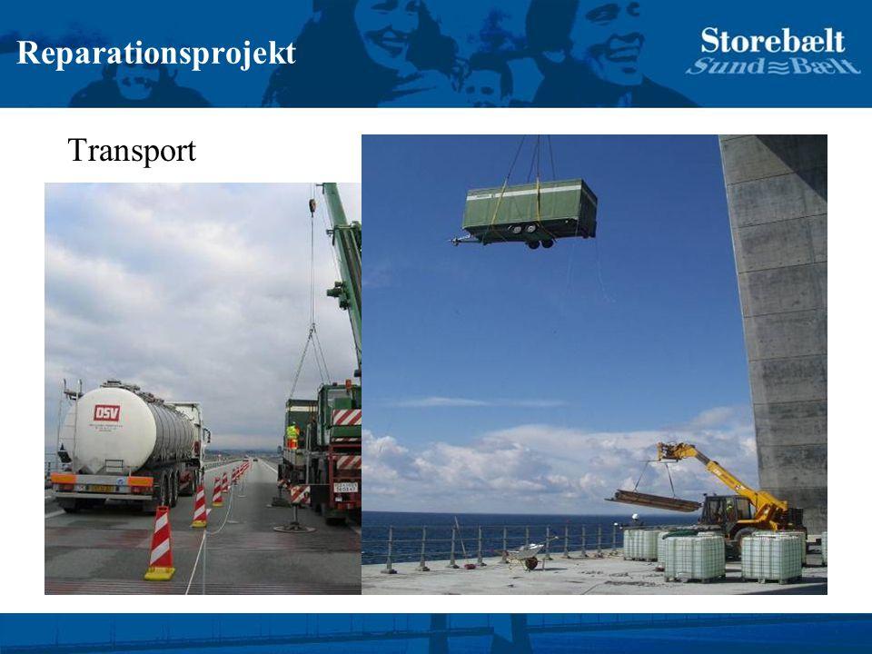 Reparationsprojekt Transport