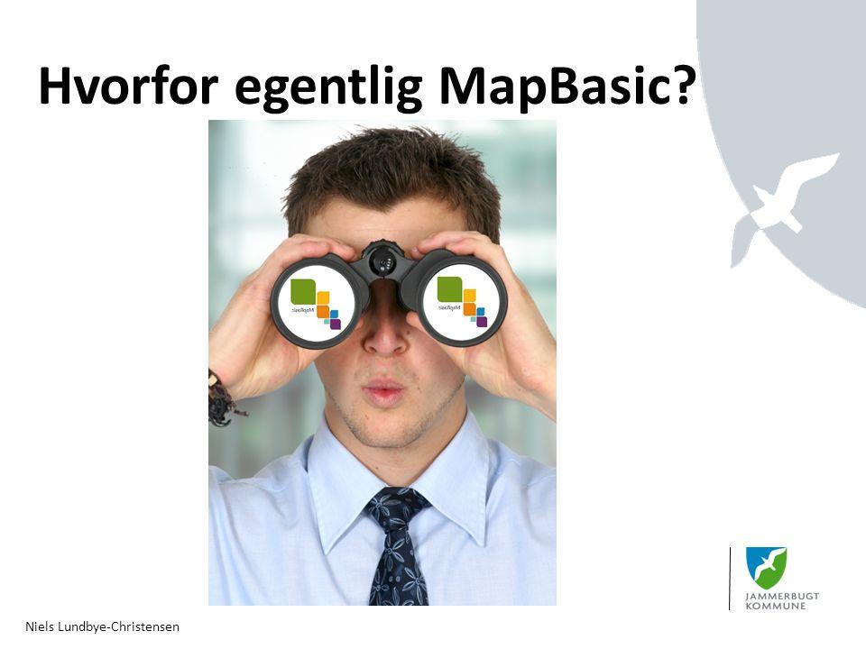 Hvorfor egentlig MapBasic