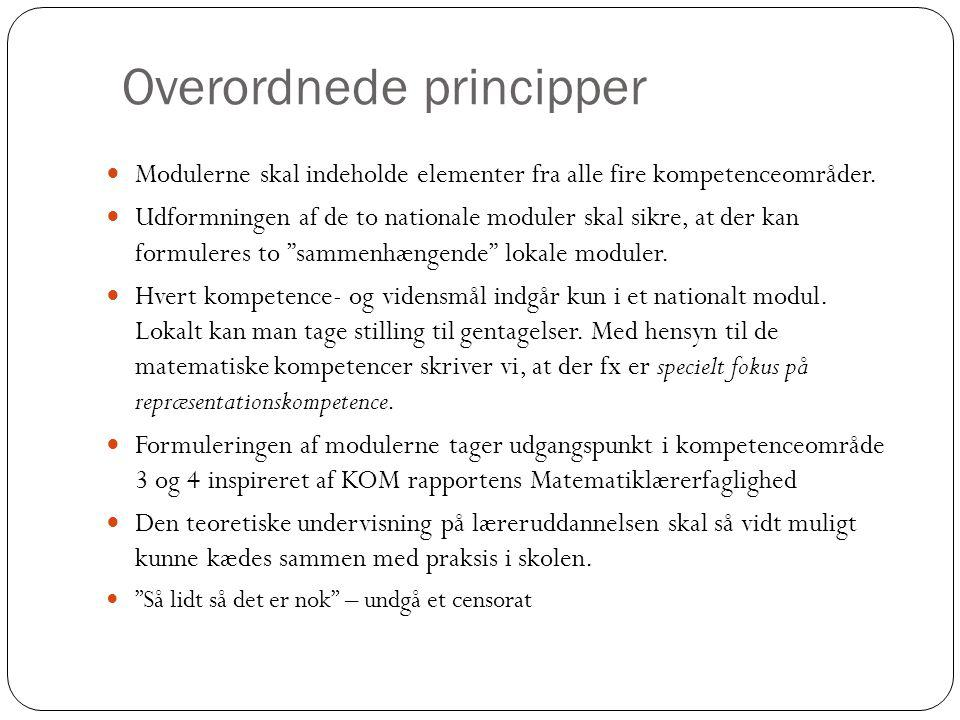 Overordnede principper
