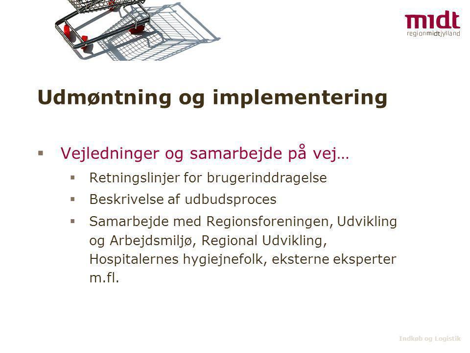 Udmøntning og implementering