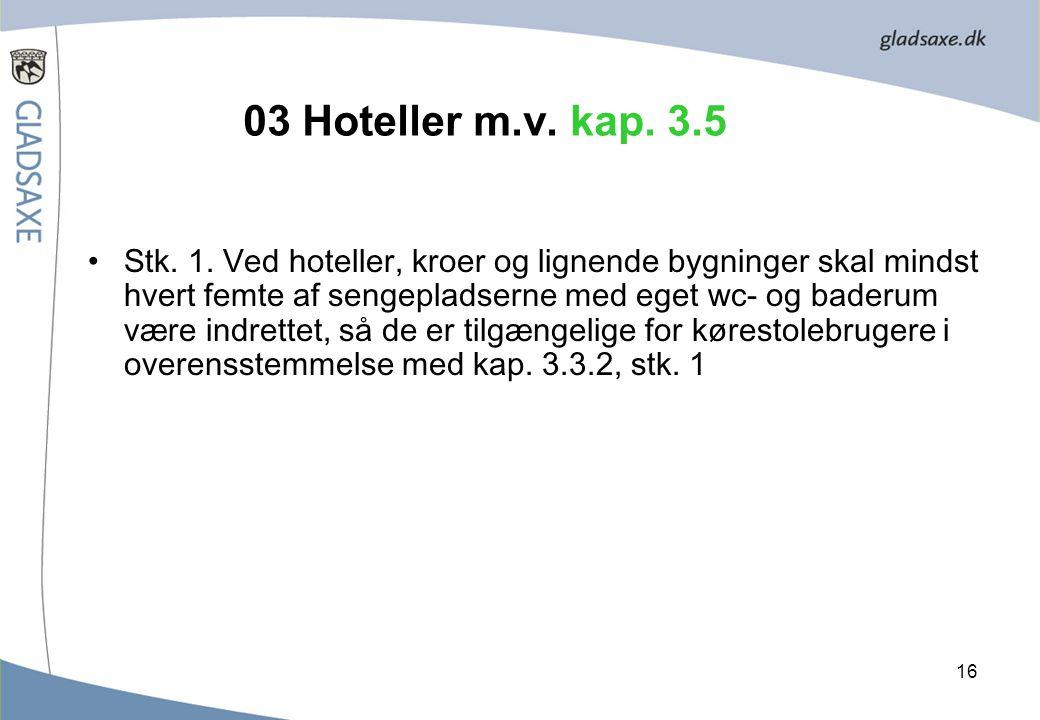 03 Hoteller m.v. kap. 3.5