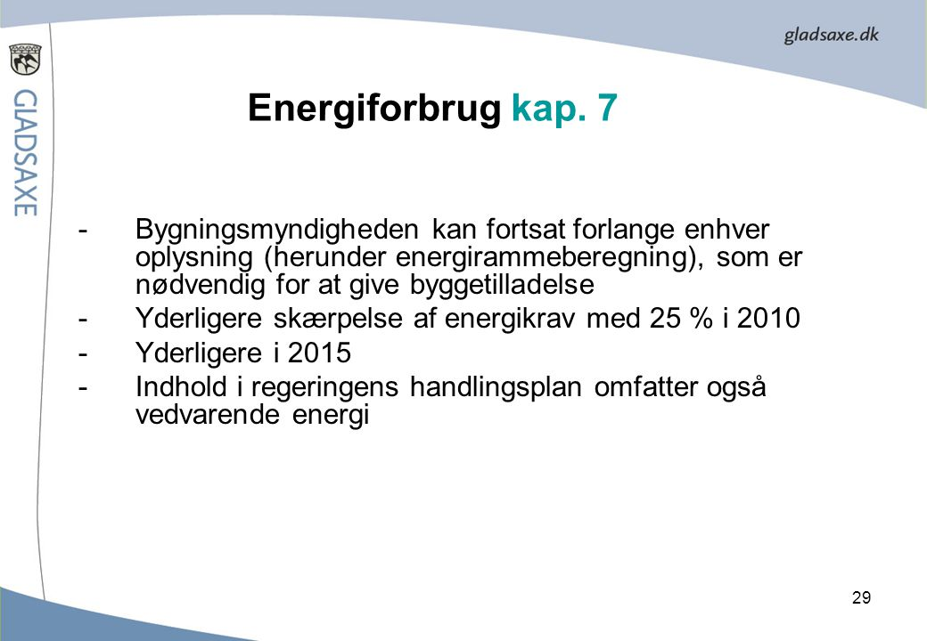 Energiforbrug kap. 7