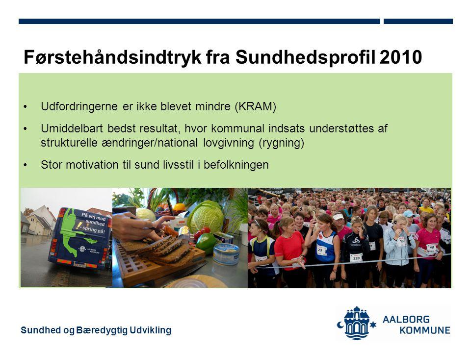 Førstehåndsindtryk fra Sundhedsprofil 2010