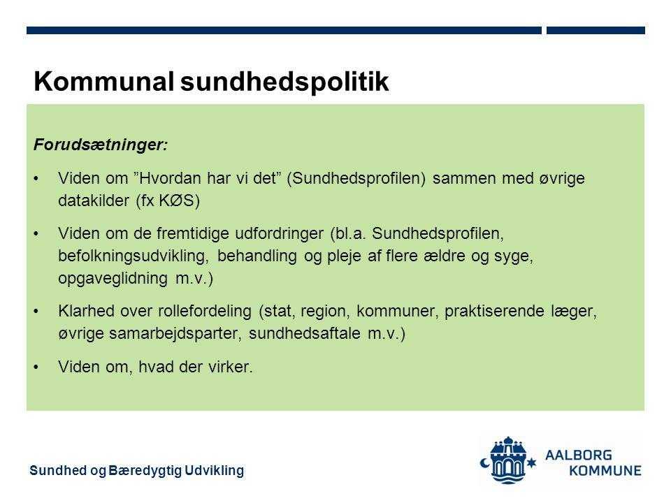 Kommunal sundhedspolitik