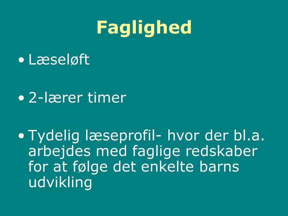 Faglighed Læseløft 2-lærer timer